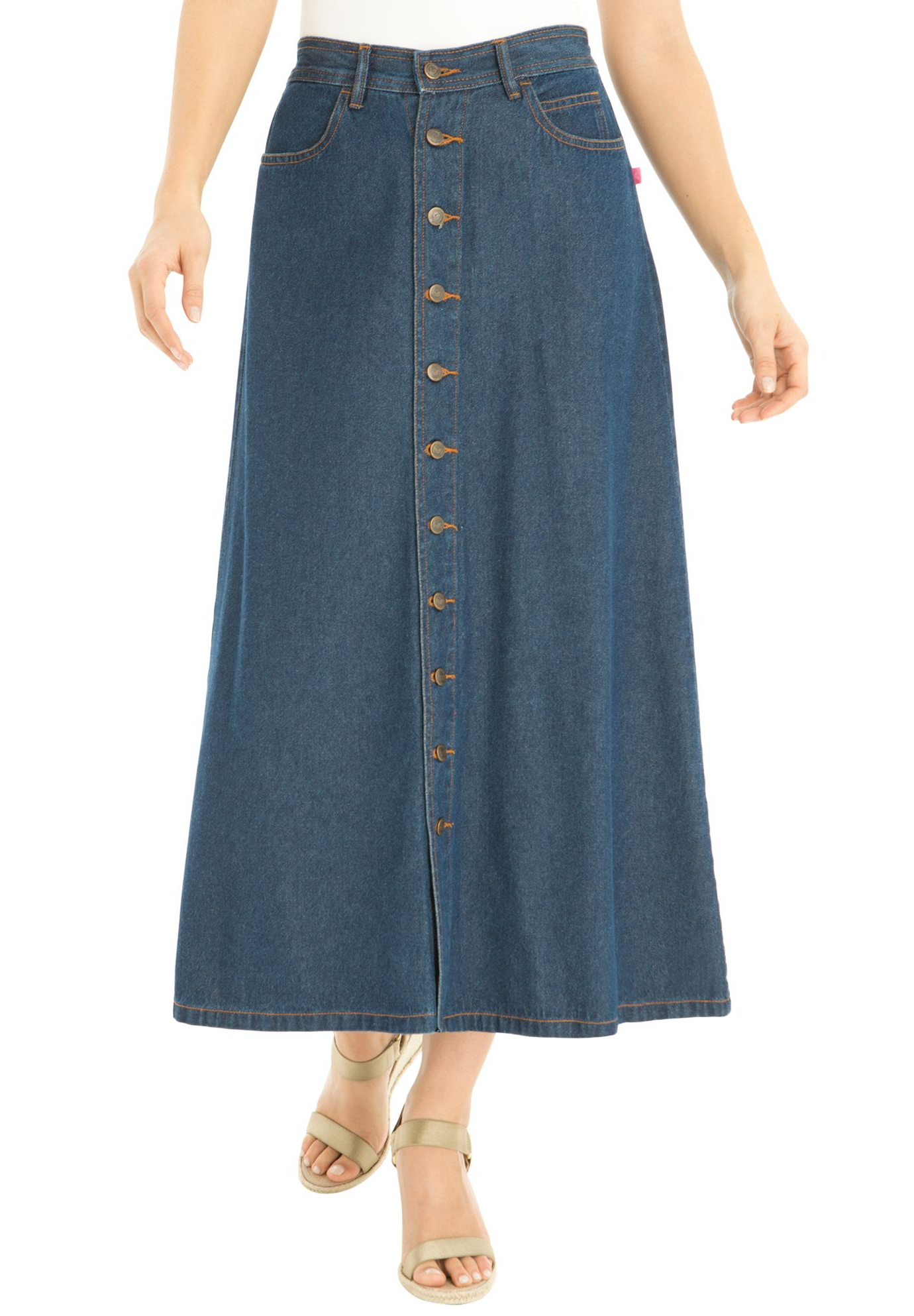 """Marple 42"""" Wide 2 Drawer Servers With Regard To Widely Used Skirt, In Cotton Denim Or Twill, With Button Front (View 19 of 20)"""