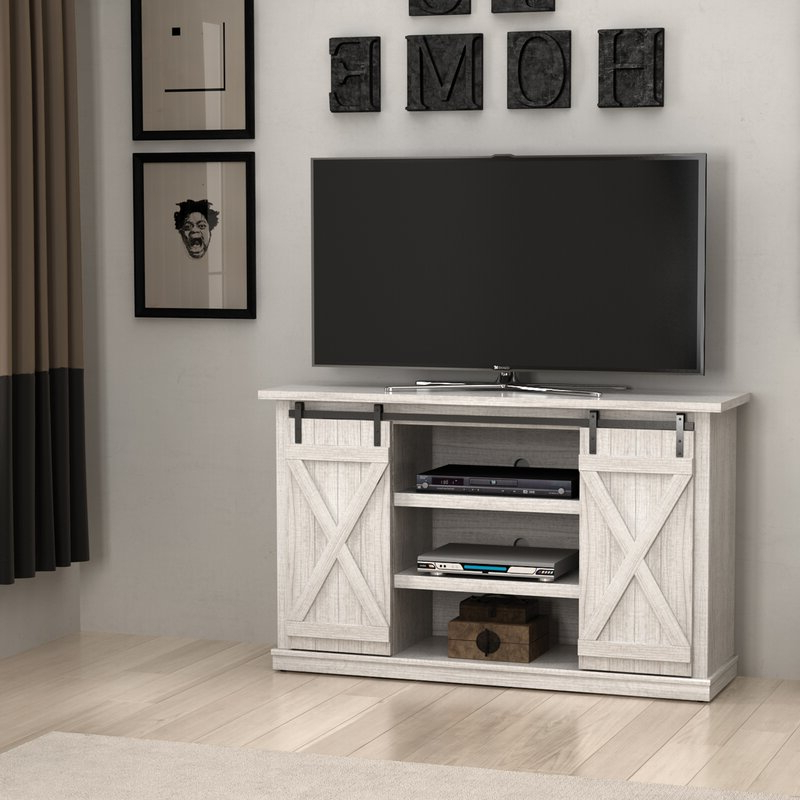 """Miah Tv Stands For Tvs Up To 60"""" Throughout Trendy Three Posts Lorraine Tv Stand For Tvs Up To 60"""" & Reviews (View 3 of 20)"""