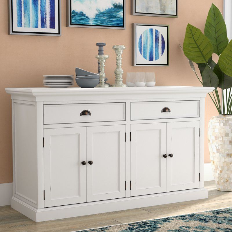 """Milena 52"""" Wide 2 Drawer Sideboards Inside Famous Amityville (View 13 of 20)"""
