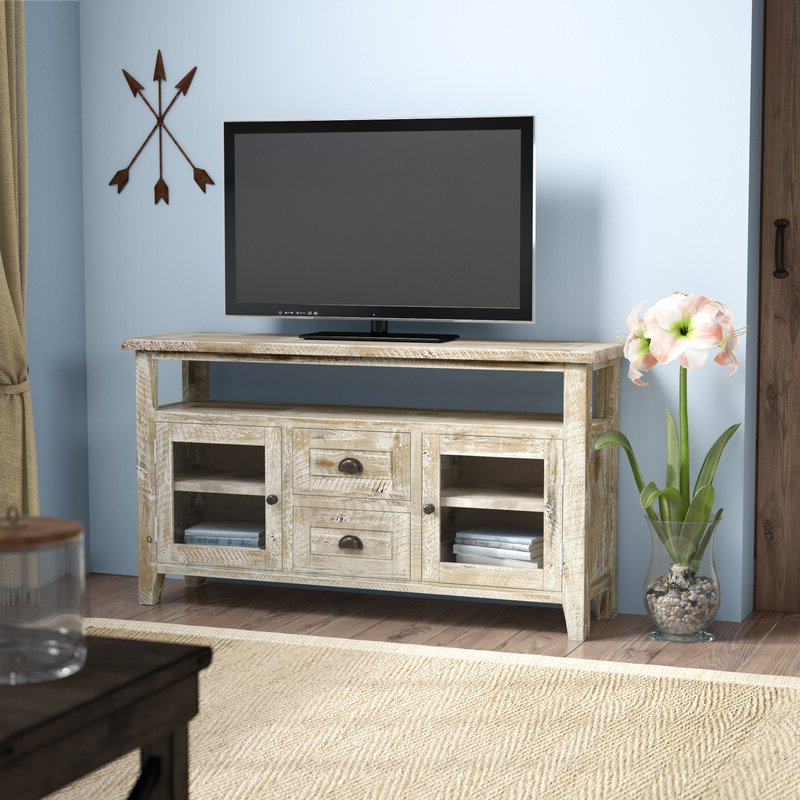 """Mistana™ Jalynn Solid Wood Tv Stand For Tvs Up To 60 Inside Well Known Alannah Tv Stands For Tvs Up To 60"""" (View 5 of 20)"""