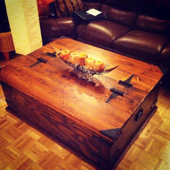 Most Current Keeney Sideboards Throughout Storage Trunk Coffee Table.rustikink On Etsy, $ (View 10 of 20)