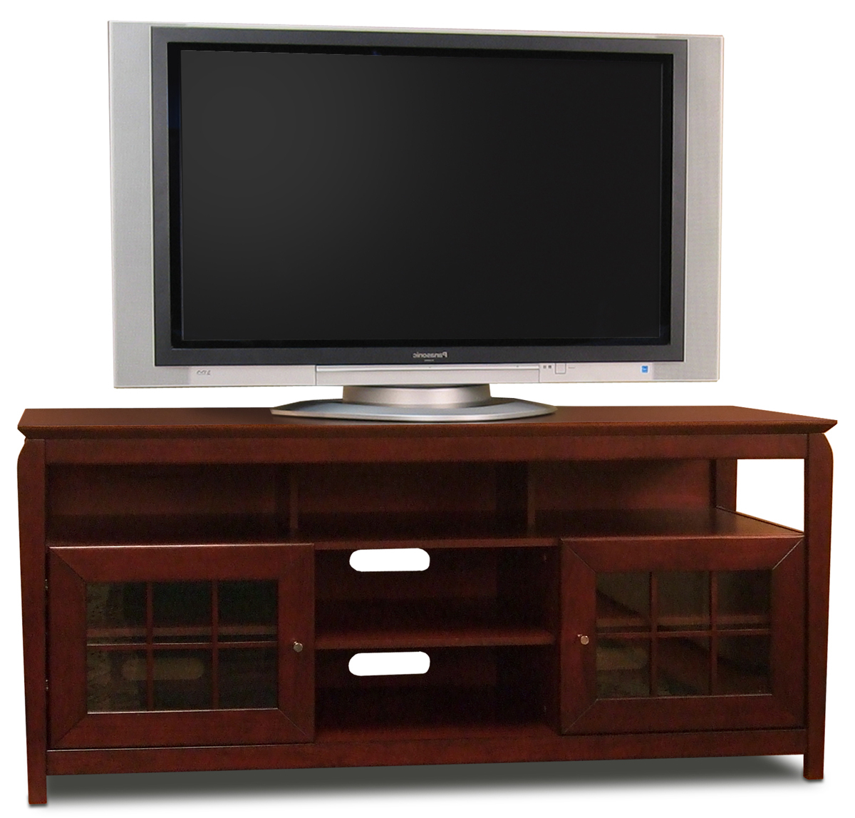 """Most Current Leafwood Tv Stands For Tvs Up To 60"""" Regarding Techcraft Bay6028b Tv Stand Up To 60"""" Tvs (View 5 of 20)"""