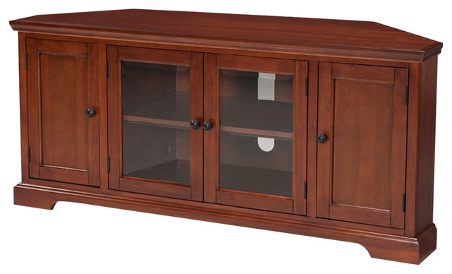 """Most Current Leick Furniture Westwood 56"""" Tv Stand In Cherry Pertaining To Kemble Tv Stands For Tvs Up To (View 17 of 20)"""