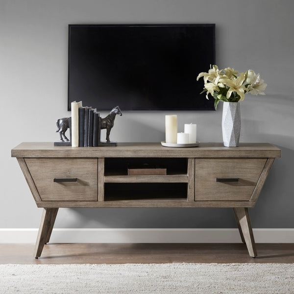 """Most Current Madison Park Rachel Grey Media Credenza – 64""""w X 18""""d X 26 Throughout Park Credenzas (View 11 of 20)"""