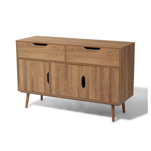 """Most Current Slattery 52"""" Wide 2 Drawer Buffet Tables For Natural Style 2 Drawer And 2 Door Buffet Kitchen Sideboard (View 12 of 20)"""