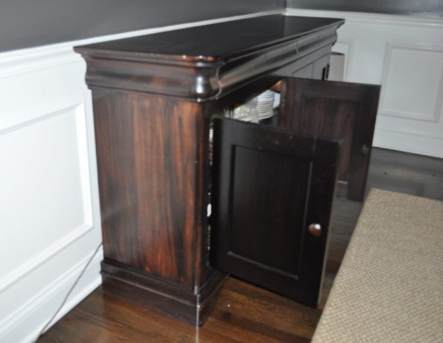 Most Current Traditional Wood Sideboard • The Local Vault Throughout Orner Traditional Wood Sideboards (View 18 of 20)