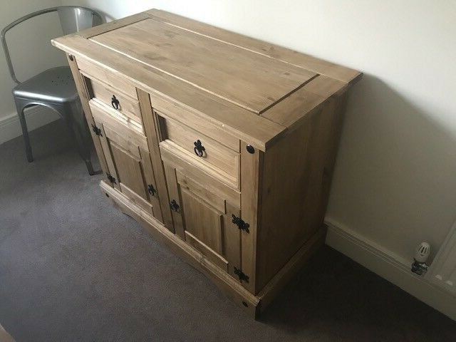 """Most Current Westhoff 70"""" Wide 6 Drawer Pine Wood Sideboards For Corona Sideboard New In Box (View 17 of 20)"""