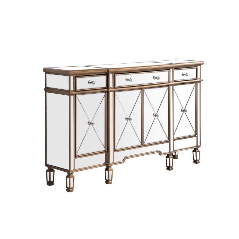 """Most Current Willa Arlo Interiors Contempo 60"""" Wide 3 Drawer Sideboard Pertaining To Eskew 60"""" Wide Sideboards (View 18 of 20)"""