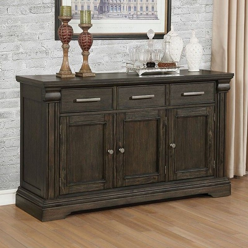 Most Popular 3 Drawer Sideboards With Regard To Williams Import Co (View 2 of 20)