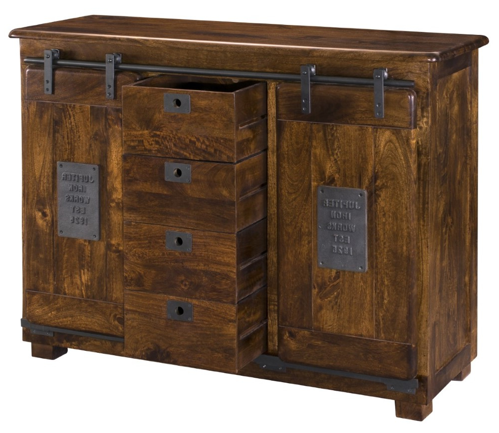 """Most Popular Bruin 56"""" Wide 2 Drawer Sideboards With Coast To Coast – Two Door Four Drawer Sideboard In (View 13 of 20)"""