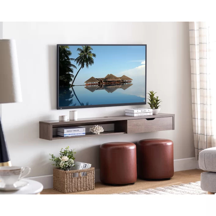 """Most Popular Few Floating Tv Stand For Tvs Up To 65"""" In  (View 10 of 20)"""