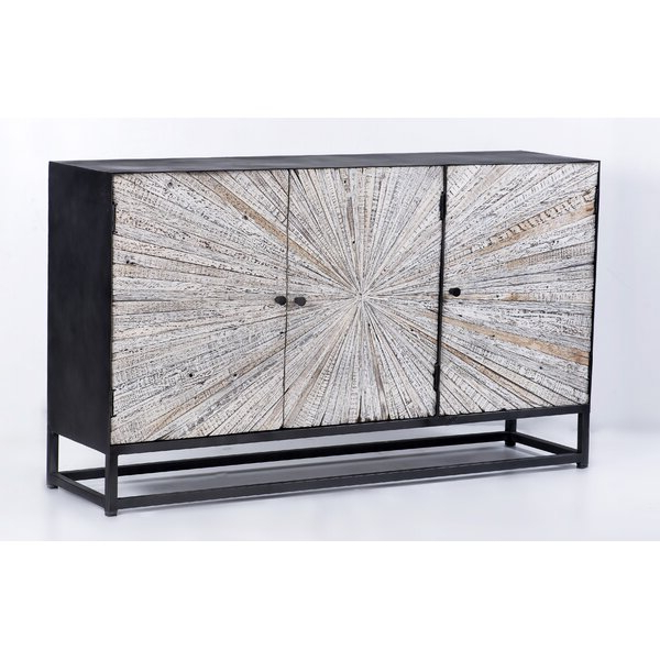 """Most Popular Heurich 59"""" Wide Buffet Tables Throughout Foundry Select Zinaida 59"""" Wide Mango Wood Buffet Table (View 9 of 20)"""