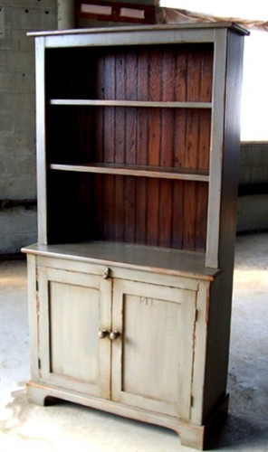 """Most Popular Kinston 74"""" Wide 4 Drawer Pine Wood Sideboards Intended For 3ft Open Top Pine Hutch – Rustic – China Cabinets And (View 4 of 20)"""