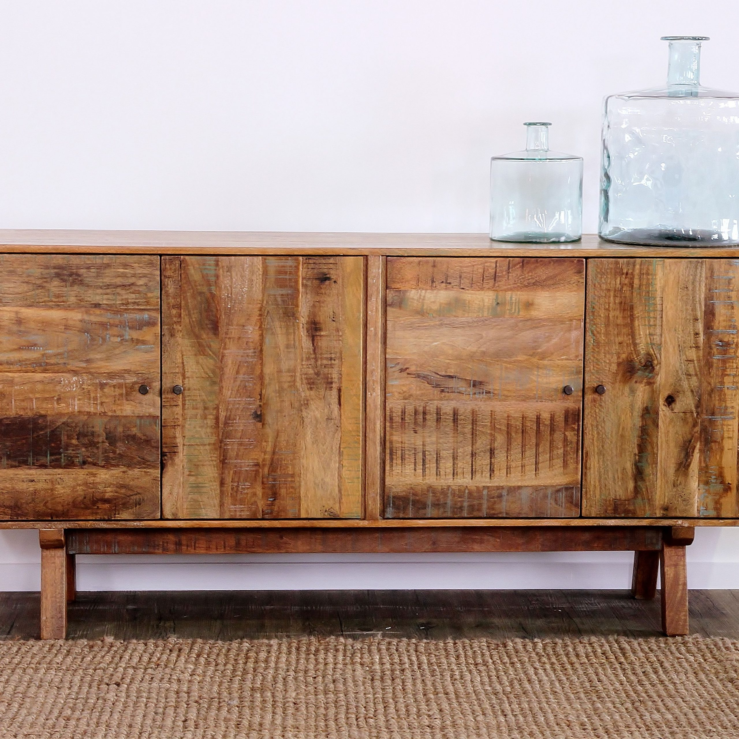 """Most Popular Rich In Colour And Texture, The Scando Range Has Been Put Throughout Macdonald 36"""" Wide Mango Wood Buffet Tables (View 18 of 20)"""