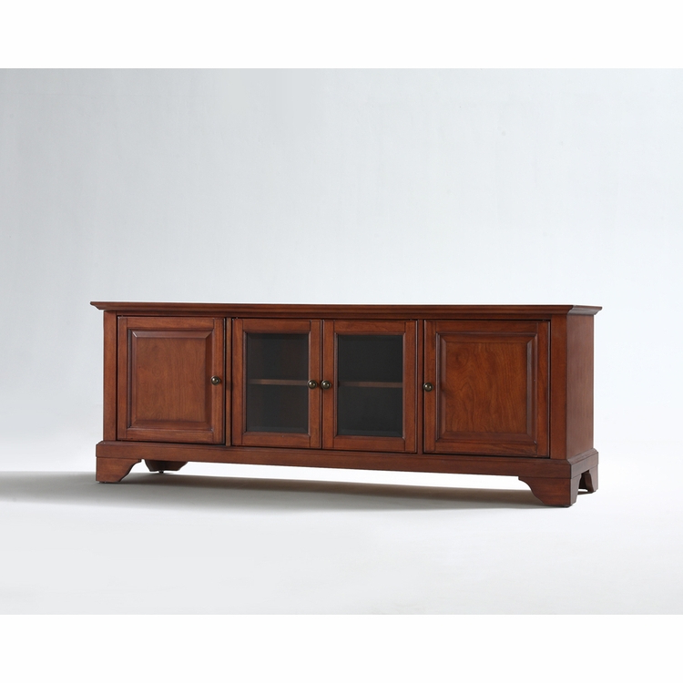 """Most Popular Whittier Tv Stands For Tvs Up To 60"""" For Crosley Furniture – Lafayette 60"""" Low Profile Tv Stand In (View 19 of 20)"""