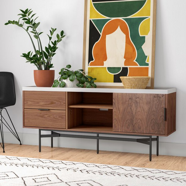 """Most Recent Heurich 59"""" Wide Buffet Tables For Allmodern Marabel (View 8 of 20)"""