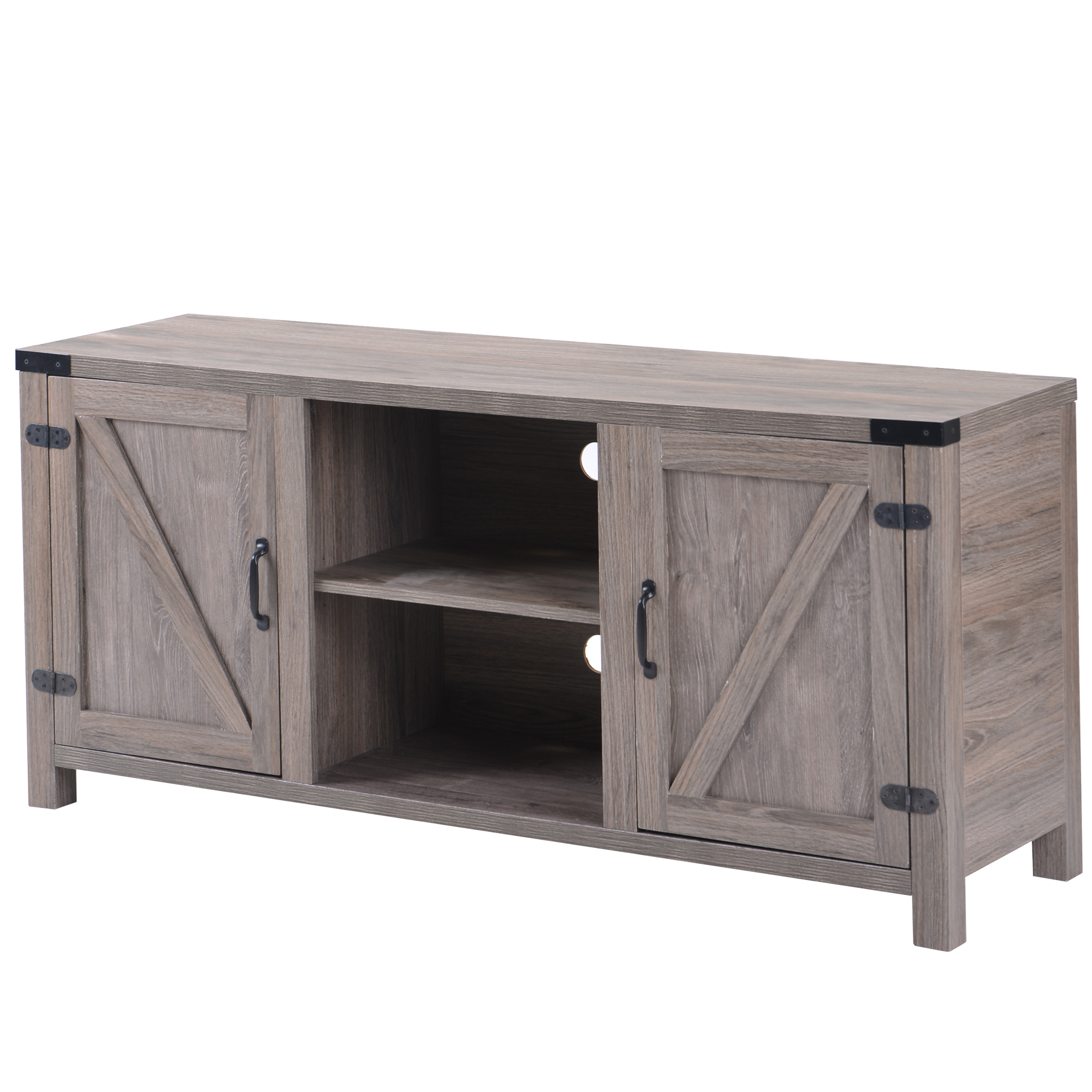 """Most Recent Labarbera Tv Stands For Tvs Up To 58"""" With Clearance! 58'' Farmhouse Tv Stands For Tvs Up To (View 14 of 20)"""
