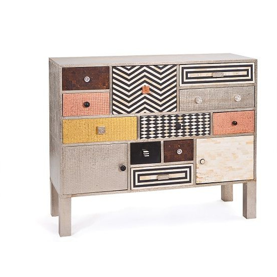 """Most Recently Released Aneisa 70"""" Wide 6 Drawer Mango Wood Sideboards For Kerala Sideboard Chest Made Of Solid Mango Wood And Mdf (View 7 of 20)"""