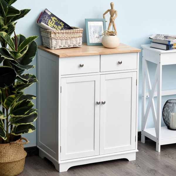 """Most Recently Released Canora Grey Strine 26.75"""" Wide 2 Drawer Server & Reviews With Strine  (View 2 of 20)"""