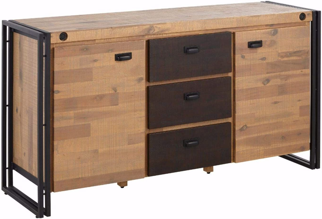 """Most Recently Released Dostie 48"""" Wide Buffet Tables Within Modern Industrial Credenza Suitable For Dining And Living (View 11 of 20)"""