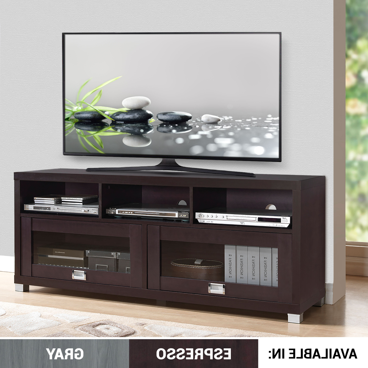 """Most Recently Released Josie Tv Stands For Tvs Up To 58"""" Regarding 58' Durbin Tv Stand For Tvs Up To 75 Accessory Storage  (View 3 of 20)"""