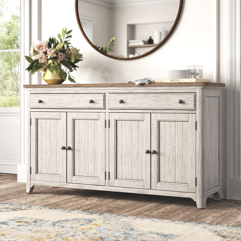 """Most Recently Released Kelly Clarkson Home Konen 68"""" Wide 2 Drawer Sideboard With Regard To Kidham 68"""" Wide Sideboards (View 2 of 20)"""