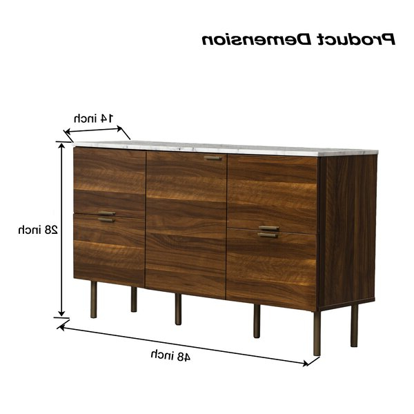Most Up To Date Corrigan Studio® Pitzer 47.91'' Wide 4 Drawer Wood Inside Pitzer (View 3 of 10)