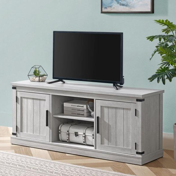 """Most Up To Date Josie Tv Stands For Tvs Up To 58"""" Regarding Unbranded 58 In (View 2 of 20)"""