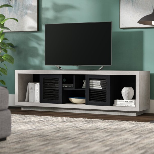 """Most Up To Date Mercury Row® Stallman Tv Stand For Tvs Up To 70"""" & Reviews Inside Huntington Tv Stands For Tvs Up To 70"""" (View 13 of 20)"""