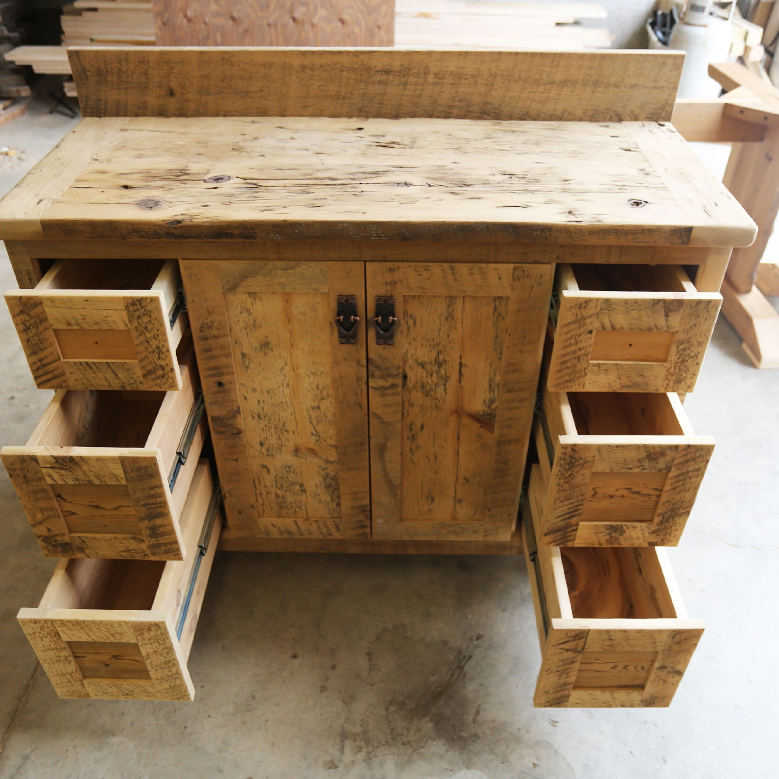 """Most Up To Date Ontario Reclaimed Wood Buffet Credenza Hd Threshing Floor Within Tabernash 55"""" Wood Buffet Tables (View 19 of 20)"""