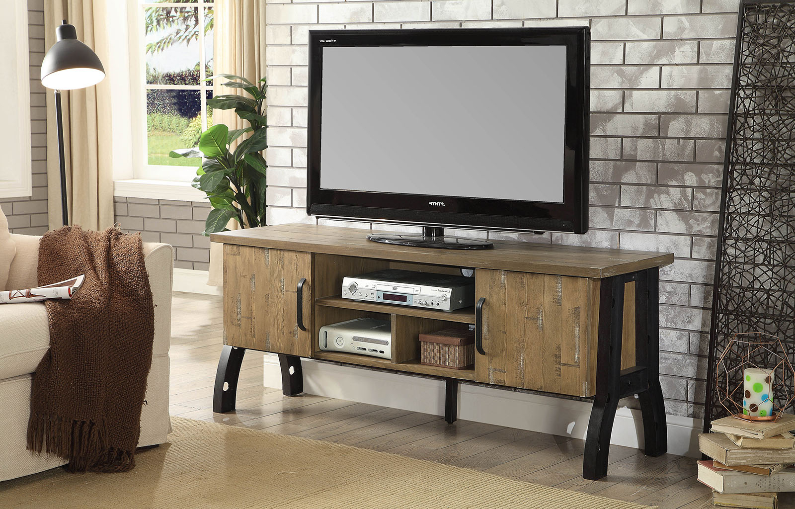 """Most Up To Date Whittier Tv Stands For Tvs Up To 60"""" Intended For 60"""" Tv Stand Kirstin Ii Cm5573 Tv (View 20 of 20)"""