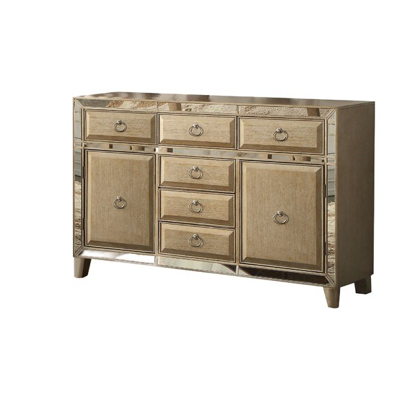 """Myndi 60"""" Wide Sideboards Within Best And Newest Rosdorf Park Isai 60"""" Wide 6 Drawer Sideboard (View 11 of 20)"""