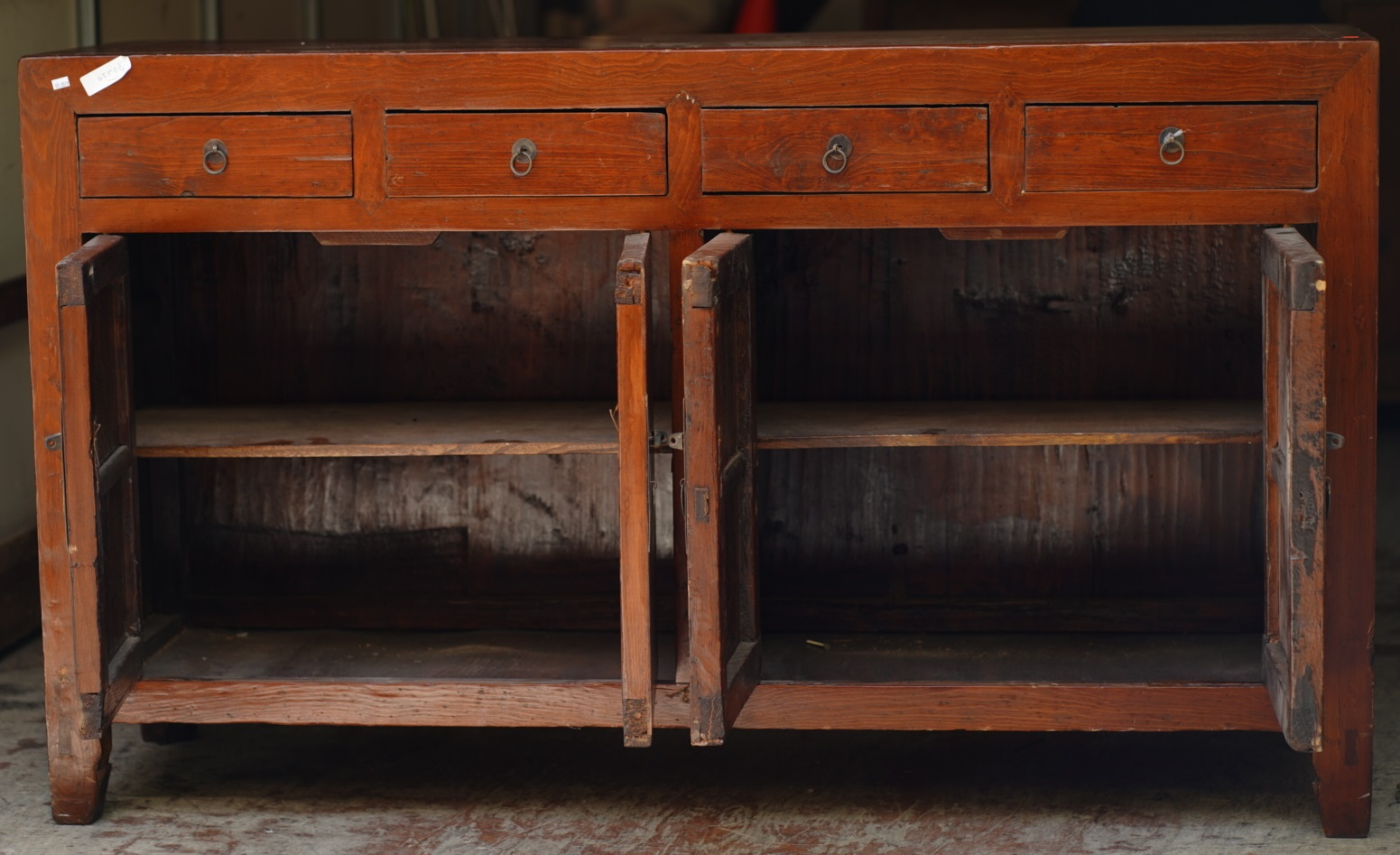 """Nahant 36"""" Wide 4 Drawer Sideboards Pertaining To Well Known Uhuru Furniture & Collectibles: **sold** #30770 Rustic (View 10 of 20)"""