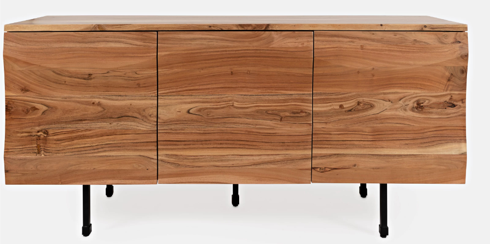 """Newest Ato 72"""" Wide Acacia Wood Sideboard In (View 6 of 20)"""
