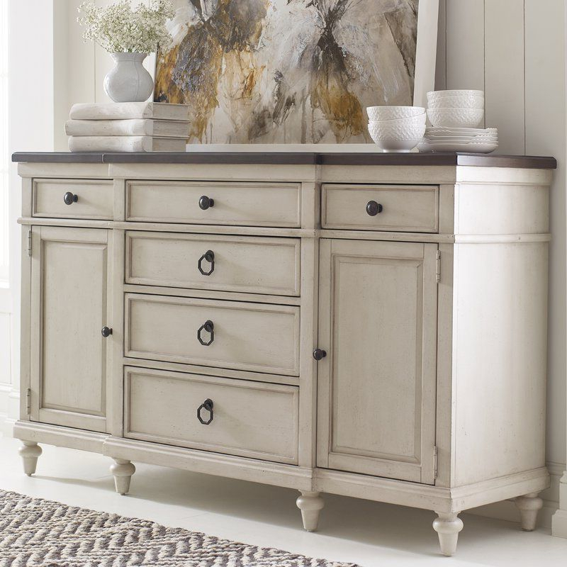 """Newest Dostie 48"""" Wide Buffet Tables Inside Ornithogale 64"""" Wide 6 Drawer Sideboard (with Images (View 16 of 20)"""