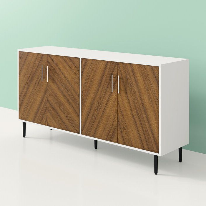 """Newest Fritch 58"""" Wide Sideboards Intended For Givens 58"""" Wide Sideboard (View 6 of 20)"""