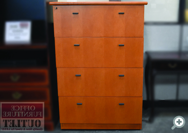"""Newest Fugate 48"""" Wide 4 Drawer Credenzas Throughout Filing & Storage (View 17 of 20)"""
