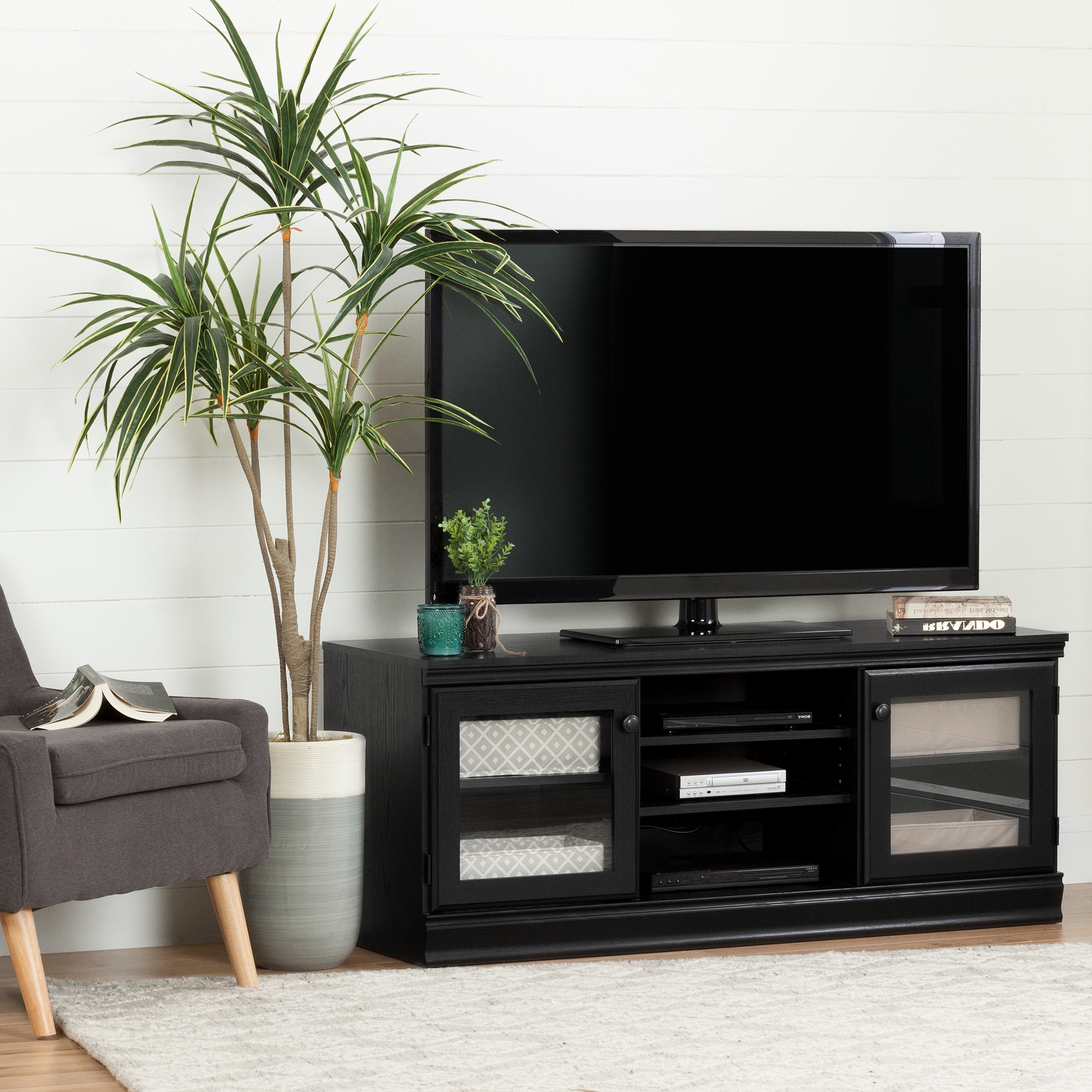 """Newest Lucille Tv Stands For Tvs Up To 75"""" Within South Shore Morgan Tv Stand For Tvs Up To 75'', Multiple (View 11 of 20)"""