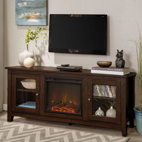 """Newest Zipcode Design™ Kohn Tv Stand For Tvs Up To 65"""" With Intended For Shilo Tv Stands For Tvs Up To 65"""" (View 8 of 20)"""