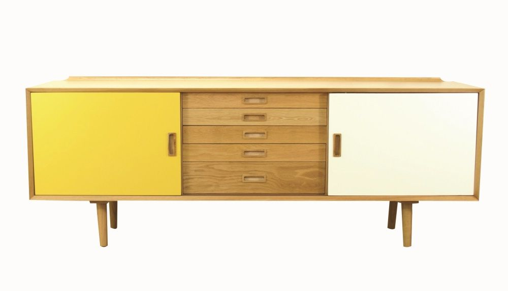 Nordic 5 Drawer Sideboard – (View 9 of 20)
