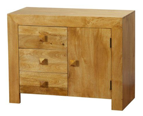 """Northwood 72"""" Wide Mango Wood Buffet Tables In Well Known Homescapes Dakota Small Sideboard With Drawers Oak Finish (View 12 of 20)"""