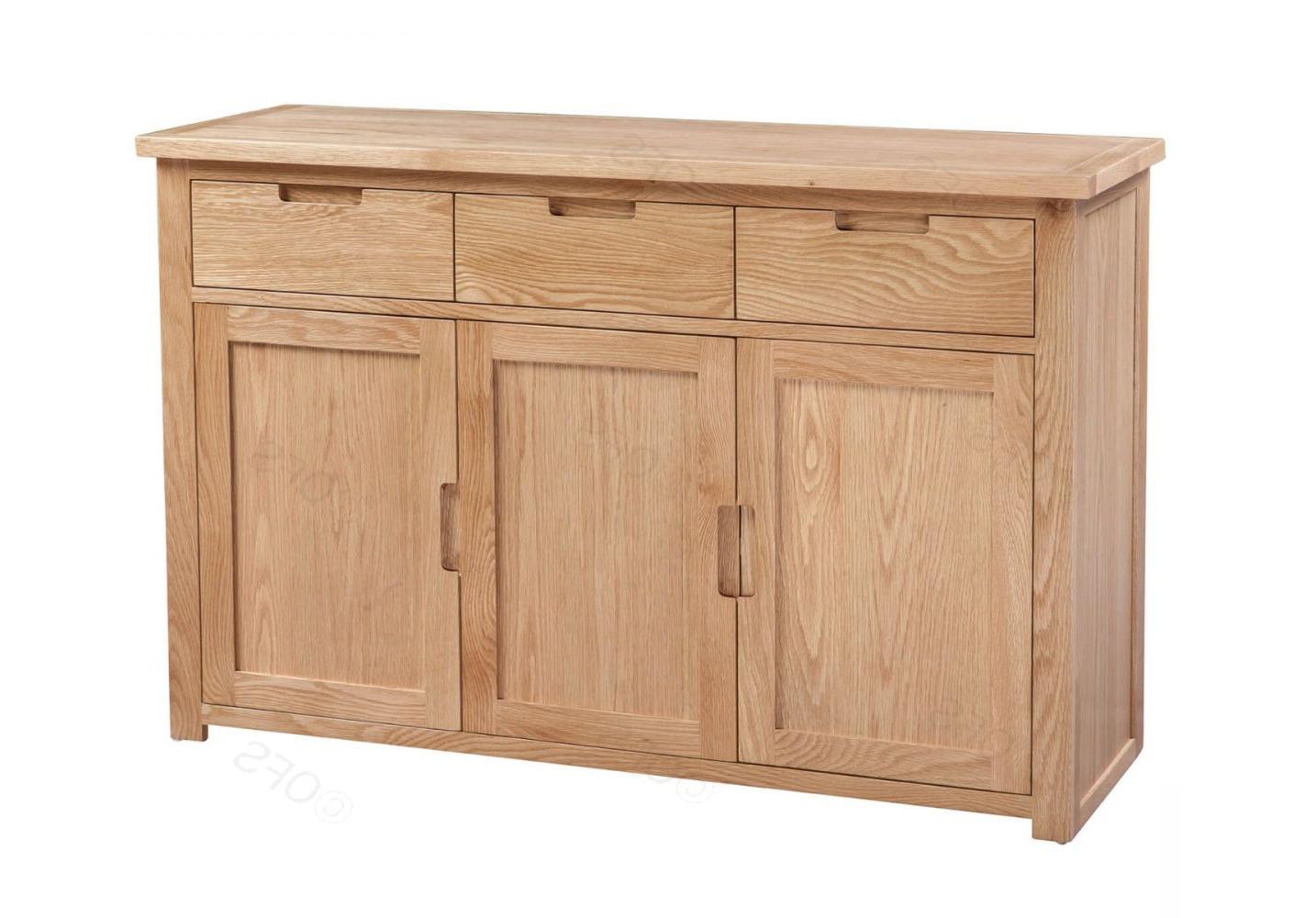 Oak Large Sideboard (View 14 of 20)