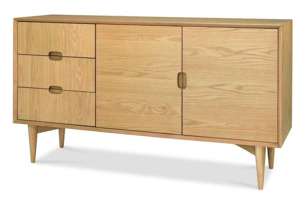 "Oak Sideboard, Wood Sideboard In Most Recent Blade 55"" Wide Sideboards (View 12 of 20)"