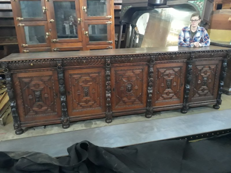 """Oley Valley Throughout Newest Nazarene 40"""" H X 52"""" W Standard Bookcase (View 12 of 20)"""