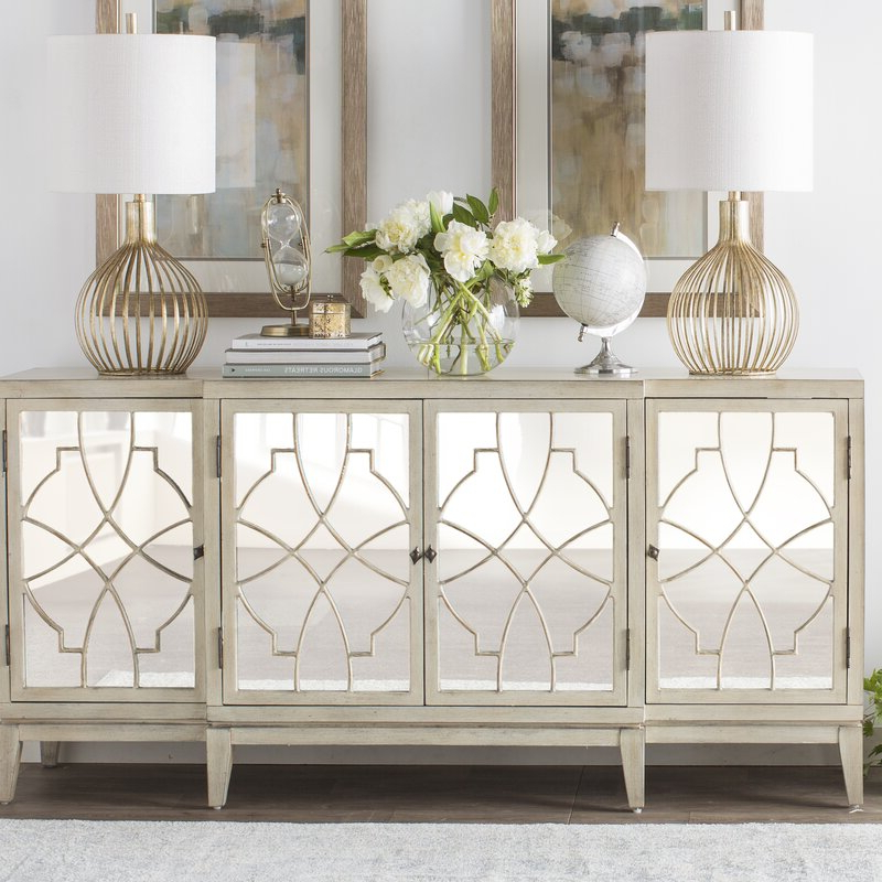 """One Allium Way Kendall 72"""" Wide Sideboard & Reviews Within Current Coles 72 Wide Sideboards (View 13 of 20)"""