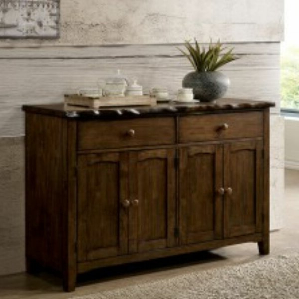 """Orianne 55"""" Wide 2 Drawer Sideboards Inside Favorite Millwood Pines Schnabel (View 2 of 20)"""