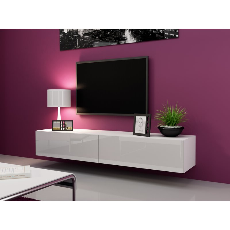 """Orren Ellis Lesterny Floating Tv Stand For Tvs Up To 75 Pertaining To Preferred Lucille Tv Stands For Tvs Up To 75"""" (View 17 of 20)"""