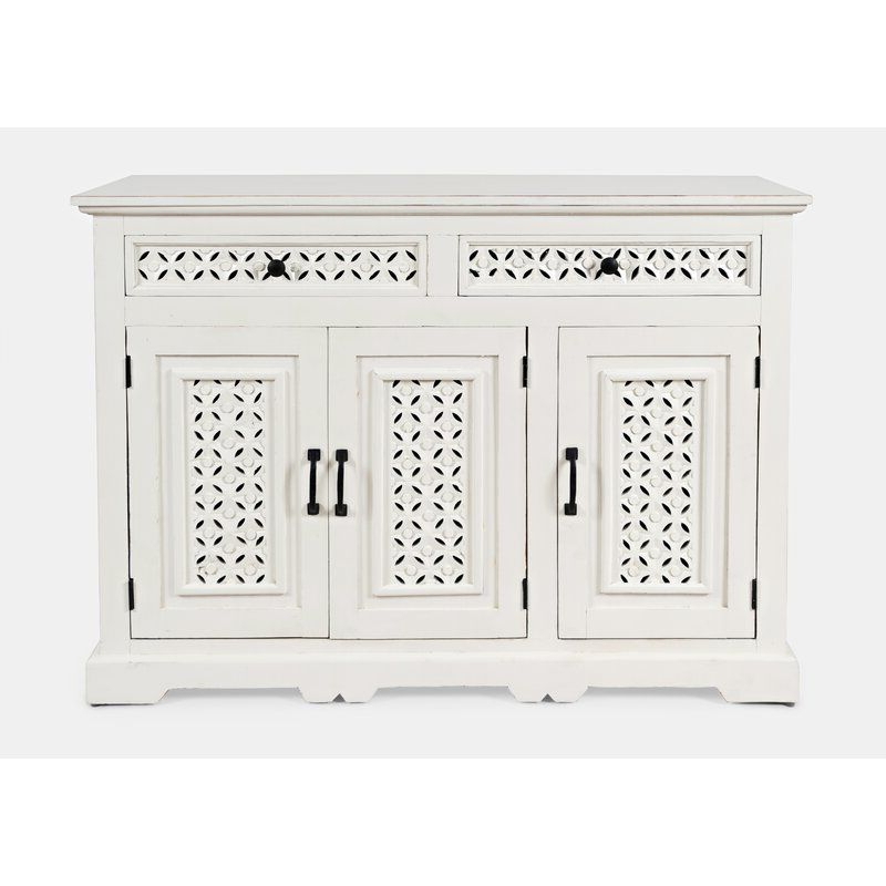 """Pin On Sunroom Decorating With Regard To Current Lorraine 48"""" Wide 2 Drawer Acacia Wood Drawer Servers (View 10 of 17)"""