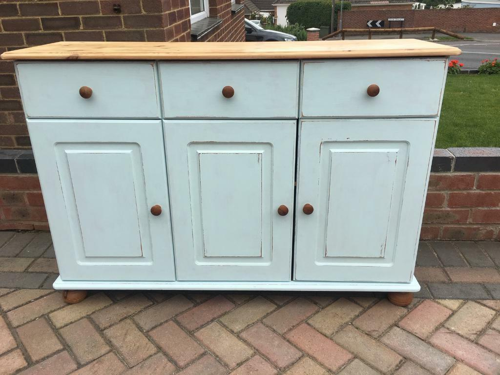 Pine Shabby Chic Sideboard (View 3 of 20)