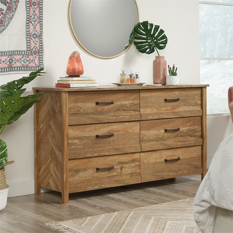 """Popular Aneisa 70"""" Wide 6 Drawer Mango Wood Sideboards With Regard To 3 Piece Bedroom Set With Dresser And 2 Nightstands In (View 15 of 20)"""